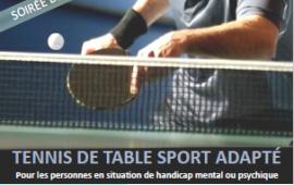 Soirée découverte ping sport adapté