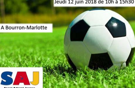 Journée découverte football sport adapté jeunes